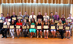 LHU Health and Physical Education Students Earn Honors